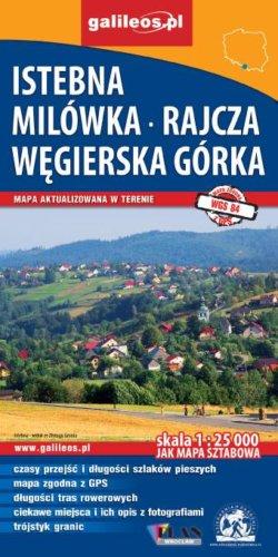 Front okładki Istebna, Milówka – Rajcza, Węgierska Górka