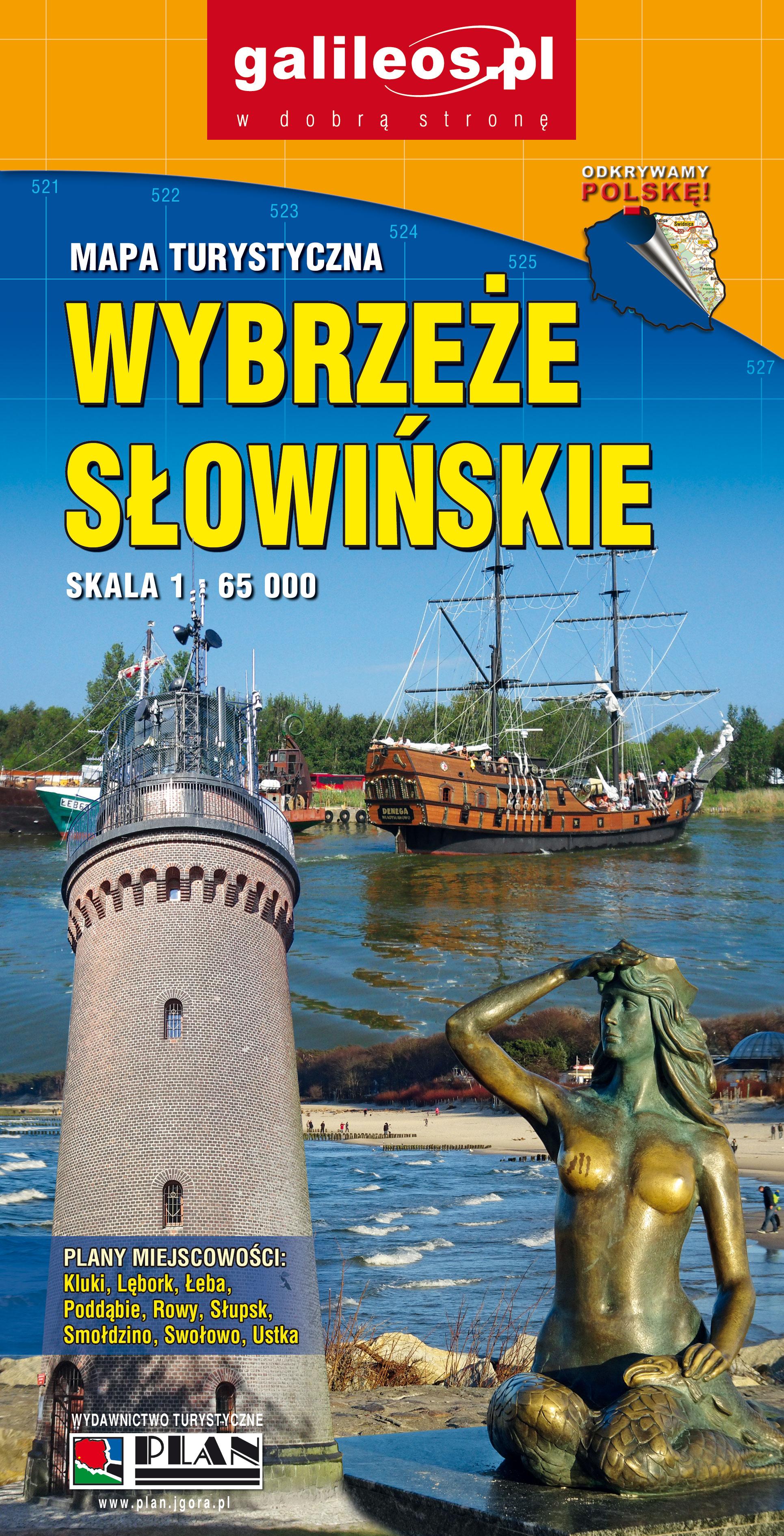 Bardzo dobry Wybrzeże Słowińskie – Mapy GPS sklep z mapami – nawigacja MQ81