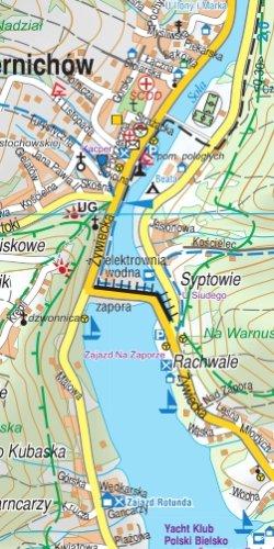 Beskid Mały - widok mapy papierowej