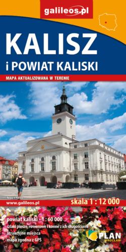 Front okładki Kalisz i powiat kaliski