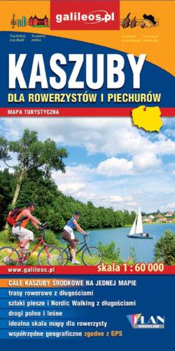 Front okładki Kaszuby dla rowerzystów i piechurów