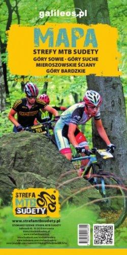 Front okładki Mapa tras rowerowych MTB