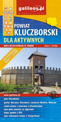 Front okładki Powiat kluczborski dla aktywnych