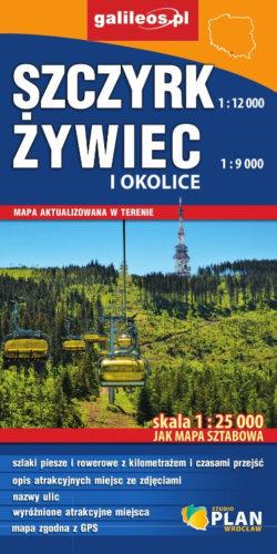 Front okładki Szczyrk, Żywiec i okolice