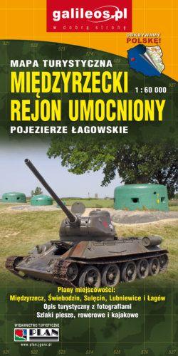 Front okładki Pojezierze Łagowskie Międzyrzecki Rejon Umocniony