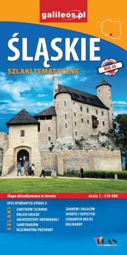 Front okładki Śląskie szlaki tematyczne
