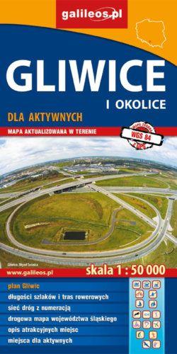 Front okładki Gliwice i okolice dla aktywnych II.2016