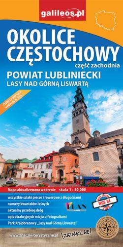 Front okładki Okolice Częstochowy – część zachodnia
