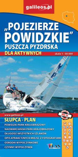 Front okładki Pojezierze Powidzkie, Puszcza Pyzdrska, powiat Słupecki