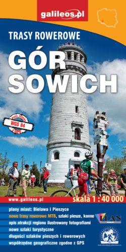 Front okładki Trasy rowerowe Gór Sowich