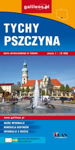 Front okładki Tychy, Pszczyna i okolice dla aktywnych
