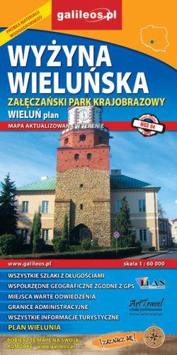 Front okładki Wyżyna Wieluńska – Załęczański Park Krajobrazowy