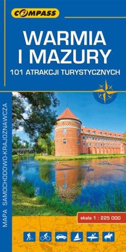 Front okładki Warmia i Mazury – 101 atrakcji turystycznych