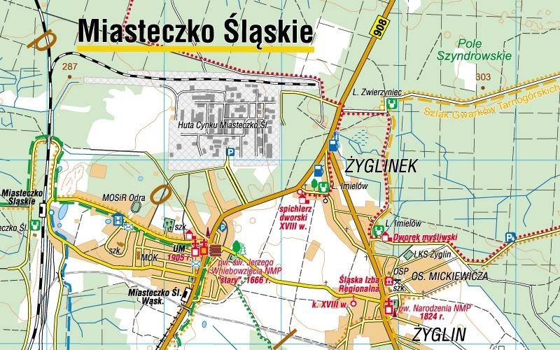 Wyzyna Slaska Mapy Gps Sklep Z Mapami Nawigacja Turystyczna