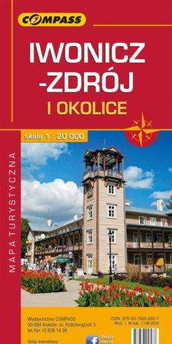 Front okładki Iwonicz-Zdrój, Rymanów-Zdrój i okolice