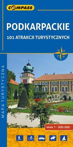 Front okładki Podkarpackie – 101 atrakcji turystycznych