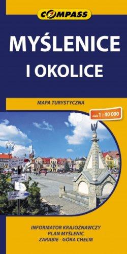Front okładki Myślenice i okolice