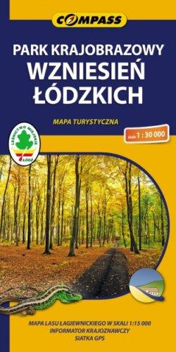 Front okładki Park Krajobrazowy Wzniesień Łódzkich