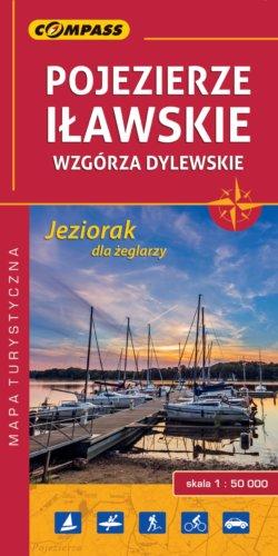 Front okładki Pojezierze Iławskie, Wzgórza Dylewskie