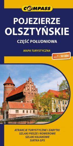 Front okładki Pojezierze Olsztyńskie – część południowa