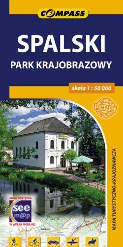 Front okładki Spalski Park Krajobrazowy