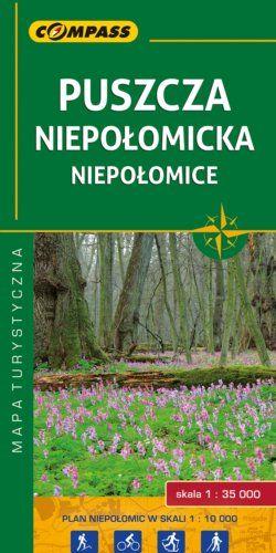 Puszcza Niepołomicka, Niepołomice - widok mapy papierowej