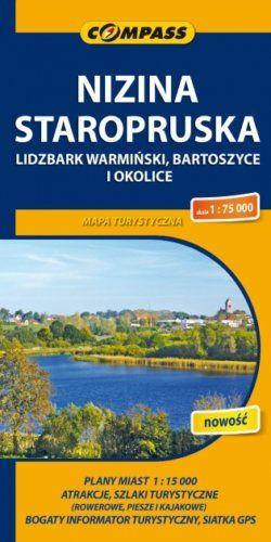 Front okładki Nizina Staropruska – Lidzbark Warmiński, Bartoszyce i okolice