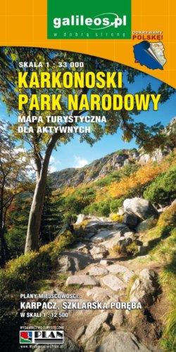 Front okładki Karkonoski Park Narodowy