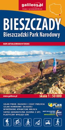 Front okładki Bieszczady  – Bieszczadzki Park Narodowy