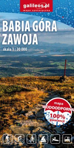 Front okładki Babia Góra-Zawoja, Babiogórski Park Narodowy